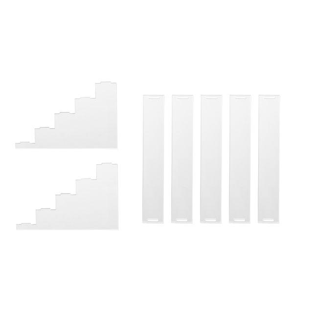 ディスプレイ用アクリルひな壇【5段】_5