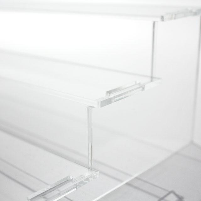 ディスプレイ用アクリルひな壇【4段】_3