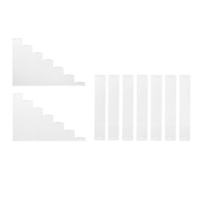 ディスプレイ用アクリルひな壇【7段】_5