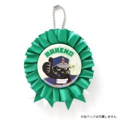 缶バッジロゼット【緑】